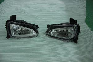 Acrylic auto headlamp kit by CNC machining