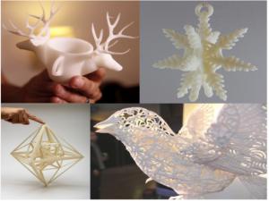 Crafts 3D printing rapid prototype